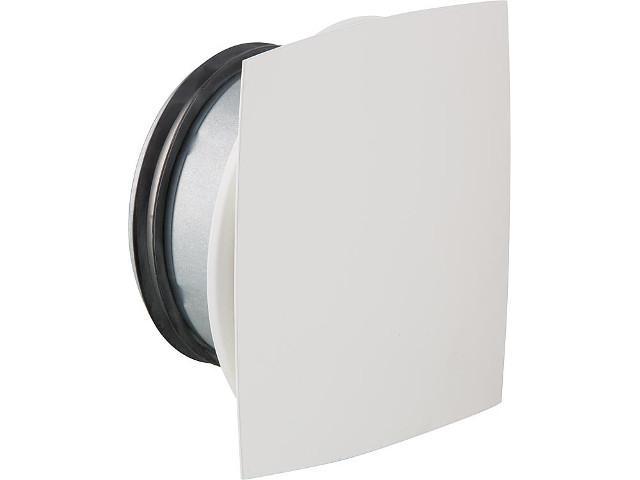 Tellerventil NW 100 Airy Bow für Zu- und Abluft Metall weiß