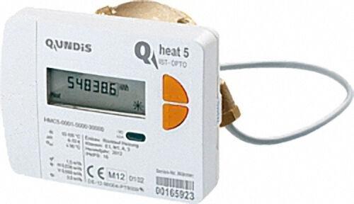 QUNDIS Kapsel-Wärmezähler Q heat 5 IST, 2,5mn/h, DN50 (2'') Koax