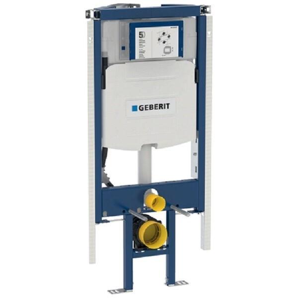 GEBERIT 111390005 DUOFIX Eck-Montageelement für Wand-WC, 112 cm mit UP-Spülkasten UP320