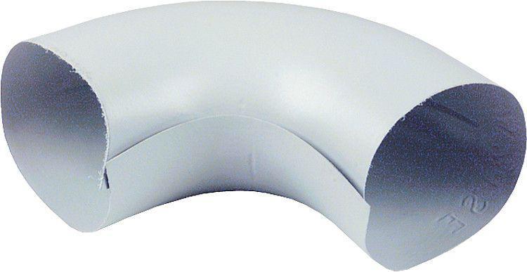 "Isonorm-folienbogen H 90° DN 25 (1""), 35 mm, Dämmdicke 20 mm"