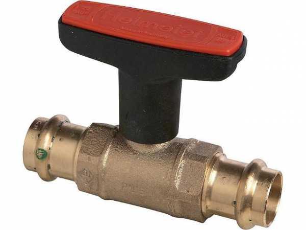 Heimeier 0602-28.000 Globo H mit Viega Pressanschluss mit SC-Contur DN 25 (28mmx28mm)