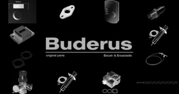 Buderus 5354830 Vorlaufrohr G1 1/4,thermom-Anschl HS25E