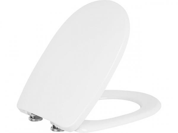 WC-Sitz Vermelho,weiß,Softclose, aus Duroplast, Edelstahlscharnier