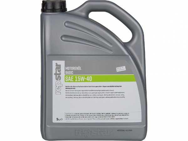Motorenöl SAE 15W-40 Basic Inhalt 5000ml