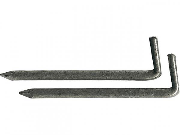 Hakenstifte DIN 1158 blank Abm.: 2,2/30, VPE 1 kg
