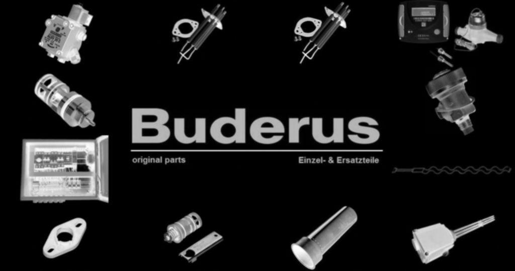 Buderus 63021753 Kugelhahn 3/4 FE Solar