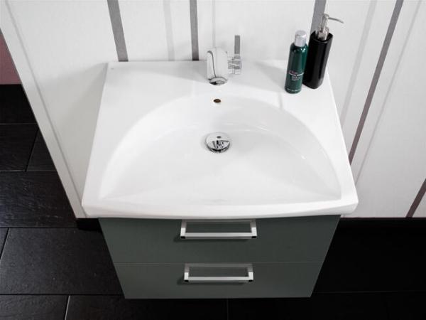 LANZET 7100712 K3 Keramik-Waschtisch 62/7/42 weiß