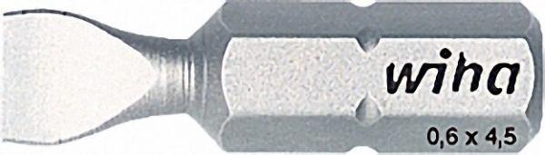 WIHA Bits 1/4'' Schlitz 1,2x6,5 Z 25mm Typ 7010 Z