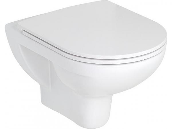 Combi-Pack Laufen PRO, Wandtiefspül-WC, WC-Sitz Softclose, abnehmbar, mit Befestigungsnischen