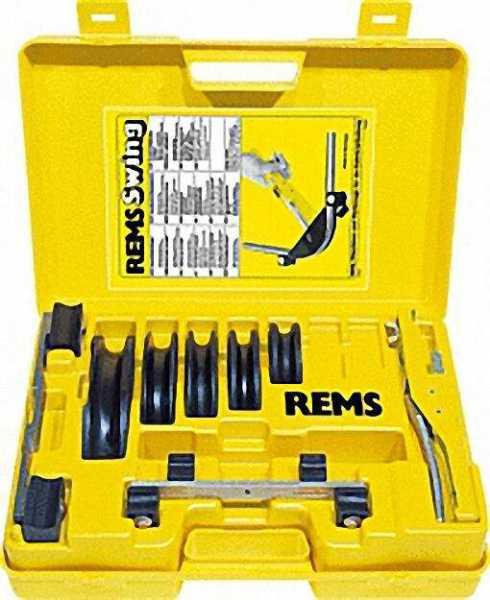 REMS Swing-Set Allround 32 Einhand-Rohrbiegegerät 10-12- 14-15-16-17-18-20-22-25/26-32mm