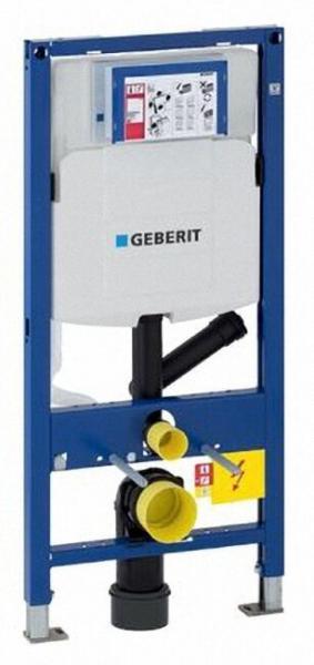 GEBERIT 111364005 DUOFIX Montageelement für Wand-WC mit Geruchsabsaugung für Abluft, 112 cm, mit UP-