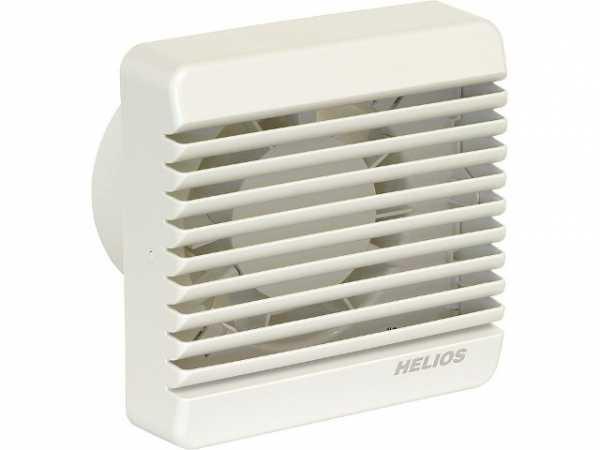 Helios 60003 Kleinraum-Ventilator HV 100 E mit elektrischem Innenverschluss