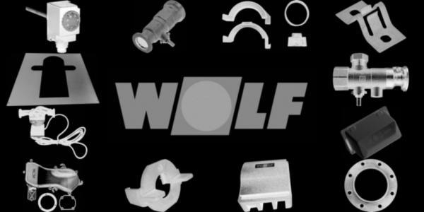 WOLF 1603163 Isolierung vorne