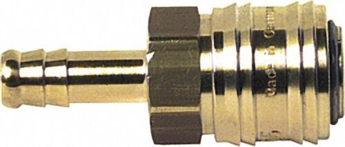 Verschlußkupplung Schlauchanschluß Typ 26 6mm