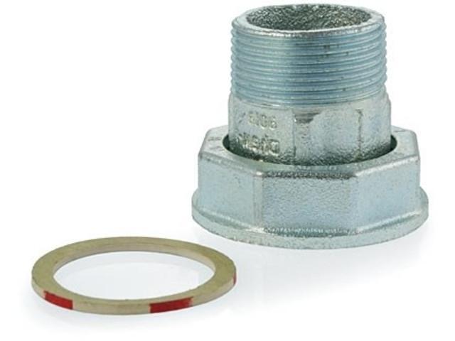 L/ötanschluss-Verschraubung 1x 22mm mit je 2 /Überwurfmuttern L/ött/üllen und Dichtringen