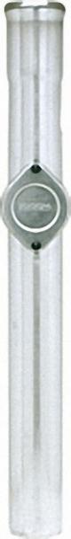 MÖCK Regenstandrohr aus Stahl DN 100 Länge: 1000mm