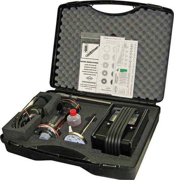 BRIGON Öl-Service-Messkoffer Standard 1100 komplett bestückt