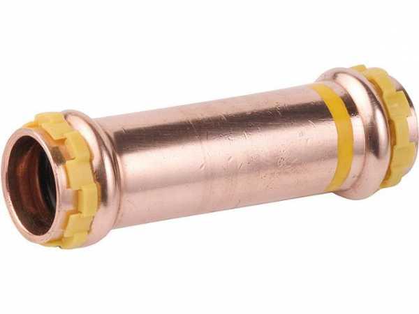 Kupfer Pressfitting Gas Schiebemuffe D: 42mm PG 5275 Gas