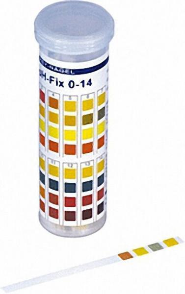 pH Indikatorstäbchen pH 0 - 14 PT Packung a 100 Stäbchen 6 x 85mm