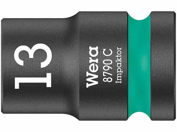 Kraftschraubereinsatz WERA 1/2', 6-kant, kurz, SW 16,0 Länge 38mm