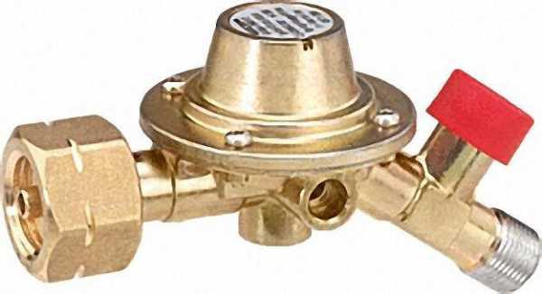 Druckregler mit SBS 14 kg/h - 4 bar, Kombi x 3/8'' LH