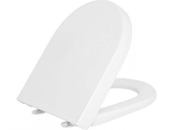 WC-Sitz V&B Subway 2.0, Softclose,mit Quick Release, Scharnier Edelstahl