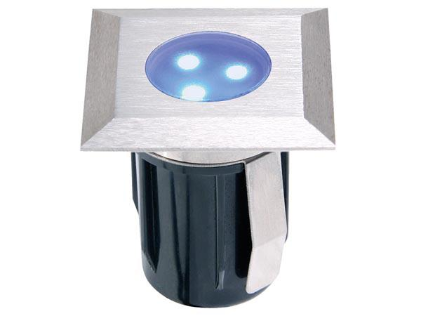 GARDEN LIGHTS ATRIA BLUE EINBAULEUCHTE 12 V 2 lm 0.5 W 12000 15000 K
