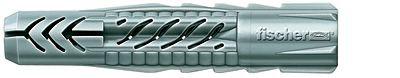 Fischer 94761 Universaldübel UX 10 x 60 S/20 mit Rand und Schraube VPE