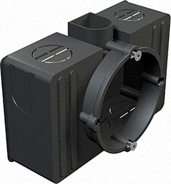 Unterputz-Geräte-/Verbindungs- kasten D=60mm Typ UG 60 VK, schwarz / 1 Stück