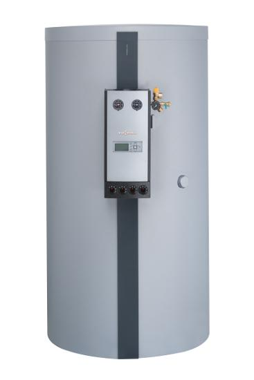 Vitocell 140-E SEIA, 400 L Pufferspeicher, mit Solar Divicon