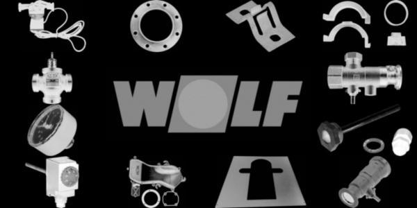 WOLF 3490072 Vierkantschraube M8x25,Seriennr. I