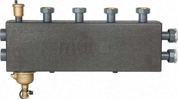 Mut Kombi-Heizungsverteiler DN 32 mit Hydraulischer Weiche und Magnetschlammabscheider