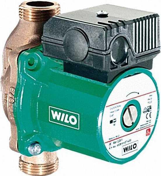 WILO 4029062 Trinkwarmwasser-Zirkulationspumpe Star-Z 25/2 EM BL 180mm 1'' 230 V