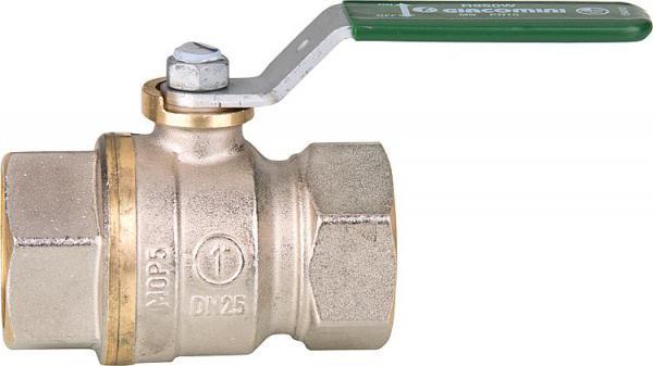 Trinkwasser-Kugelhahn, IG x IG - Totraumfrei, mit Stahlhebelgriff_29553_750x421