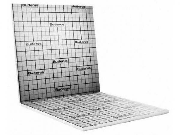 Buderus Logafix Faltplatte Tackerfläche EPS DES WLS 045 20-2 sm 4kPa, Mindestabnahme 10 m²