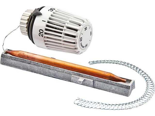6402-00.500 Thermostatkopf-K als Anlege und Tauchfühler mit B