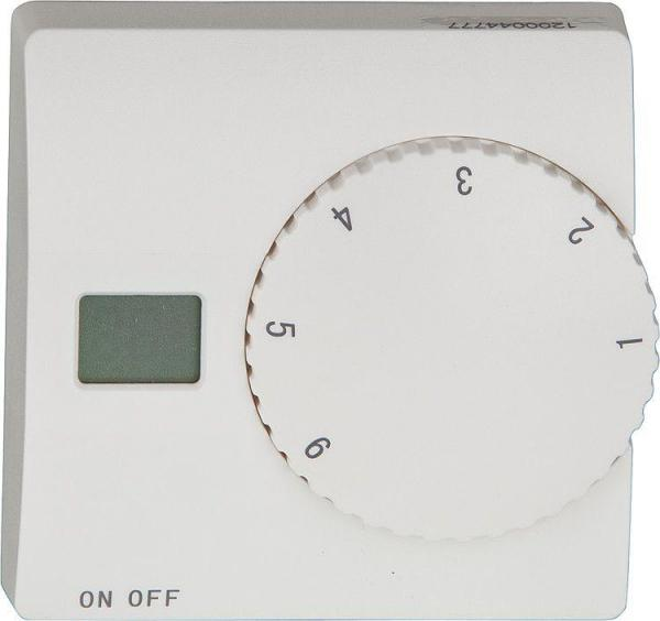 Raum-u.Fußbodentemperaturregler Magnum Typ Standard Control, Aufputz