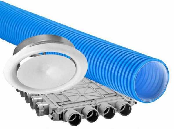 DIMPLEX DFP ZA Kunststoff-Flexrohr-Pakete, Zuluft / Abluft