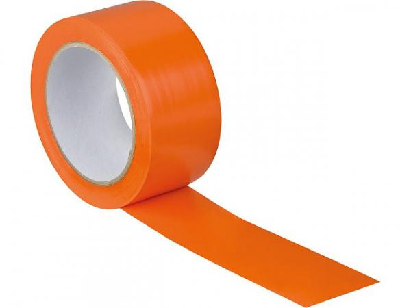 Putzerband glatt, orange (BxL) 50mmx33m