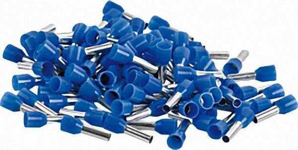 Ader-Endhülse isoliert 2, 5 x 14 blau 1 Beutel 100 Stück