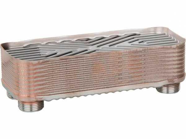 Plattenwärmetauscher für Trenn- system Easyflow Syst Heizung 16KW