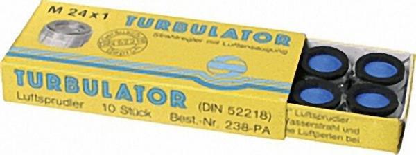 Perlator mit Luftansaugung M 24 x 1 AG 10 Stück mit Prüfzeichen