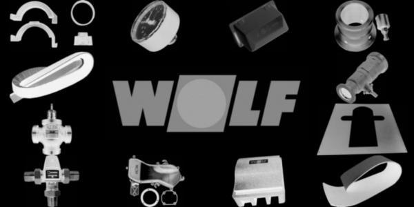 WOLF 2484718 Verkleidung-Mantel, Silber W