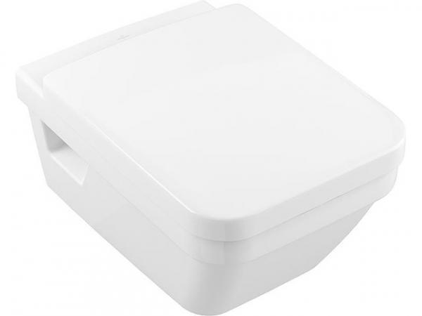 Combi-Pack V&B Architectura Wand-Tiefspül-WC Direct Flush eckig+WC-Sitz Softclose,weiß
