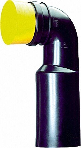 Wc-anschlussbogen 90° mit Bauschutz 90/90