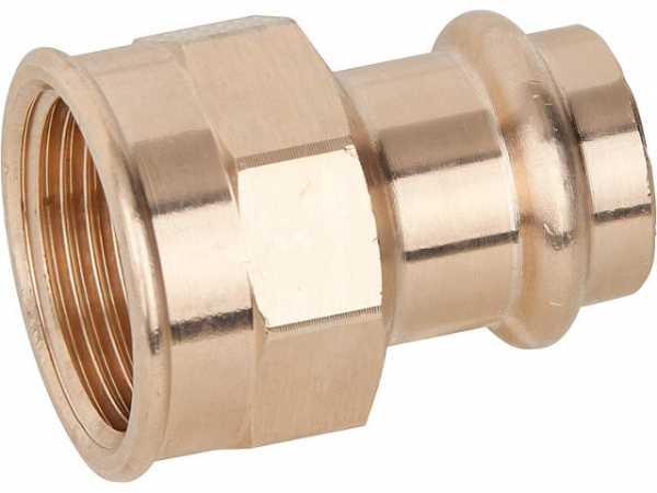 VIEGA Sanpress Übergangsstück Modell 2212 28mmxDN20(3/4)