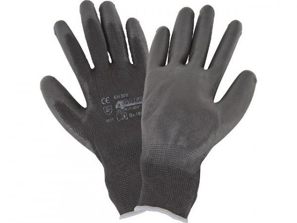Montagehandschuh aus Nylon, schwarz, Größe XL 1 Paar