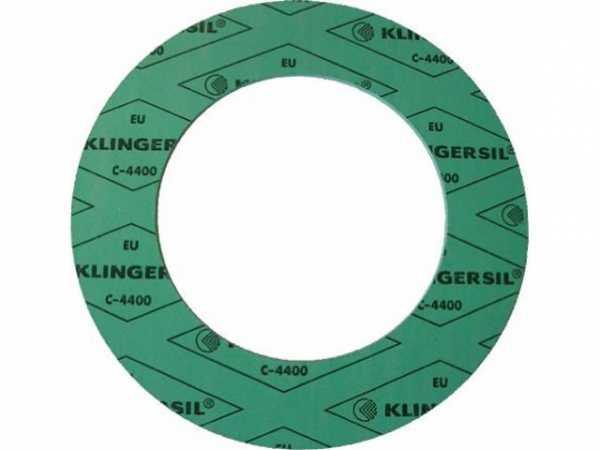 Flachdichtung Klingersil C4400 PN16 DN32, asbestfrei, 2mm, 43/82D