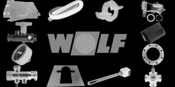 WOLF 1617120 Isoliermantel Gussblock
