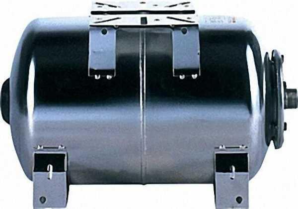 VAREM Ausdehnungsgefäß Horizontal Inox 50 Liter für Brauchwasser Membrane wechselbar